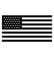 45 star united states flag 1896 vintage vector image vector image