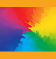 abstract fun party backdrop multicolored rainbow vector image vector image