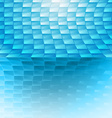 Blue abstract vector image vector image