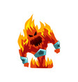 fervillon demonic infernal creature character vector image vector image
