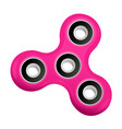 hand spinner flat vector image