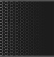 hexagon shaped texture background vector image vector image