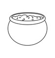 isolated sauce design vector image vector image