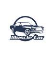 logo design template for carcar logo car rental vector image vector image