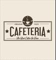 retro vintage coffee design background 0005 vector image vector image
