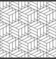 seamless ornamental pattern - geometric vector image