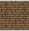 seamless texture placing brown stone wall vector image vector image