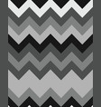 seamless zigzag lines grey vector image