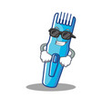 super cool trimmer character cartoon style vector image vector image