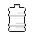 water gallon vector image vector image