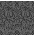 Seamless vintage dark gray background vector image