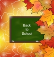 Autumn Bright Background vector image
