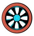 rotor icon cartoon vector image