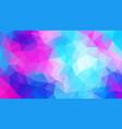 cool triangle geometric gradients minimalistic vector image vector image