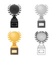 cup for winning a golf tournamentgolf club single vector image vector image