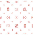 disk icons pattern seamless white background vector image vector image
