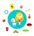 Dog Supplies vector image vector image