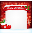 For Christmas vector image vector image