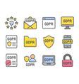 Gdpr general data protection regulation set