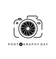 photography day vector image vector image