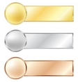 sport medals vector image
