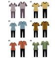 uniform vector image vector image