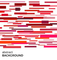 abstract background of red rectangles vector image