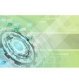 Abstract technology futuristic business background vector image vector image