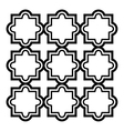 Arabic seamless pattern set - Islamic design vector image vector image
