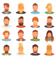 beards portraite of bearded man with male vector image vector image