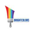 bright color - logo template concept