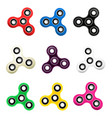 hand spinner flat vector image vector image