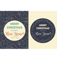 Holiday background with christmas balls vector image vector image