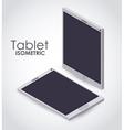 isometric device icon design vector image