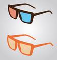Sunglass vector image vector image