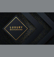 abstract luxury mesh background with hexagon vector image vector image