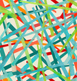 colored strips seamless pattern vector image vector image