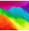 Colorful Abstract Background Design Template vector image