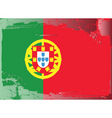 Portugal national flag vector image vector image