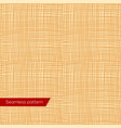 Seamless texture of yellow canvas vector image