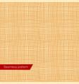 seamless texture yellow canvas vector image vector image