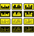 set of city signs vector image vector image