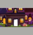 trick or treat happy halloween vector image vector image