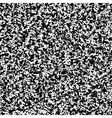 white noise black and pattern vector image vector image