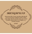 Background frame text vector image vector image