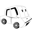 Cartoon car vector image vector image