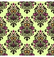 Damask Flourish seamless pattern vector image vector image