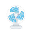 electric fan icon vector image vector image