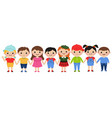 happy children concept happy children concept vector image