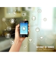 Internet Of Things Concept vector image vector image